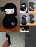 Crochet Ninja Gift by FeatheredDragon