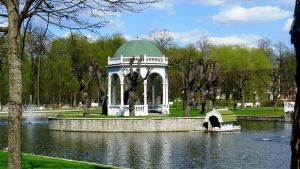 Park Gazebo in Estonia by Anri82