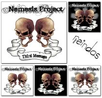 nemesis project cd cover by reindas