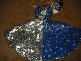 duct tape dress 2 by DustyGnome