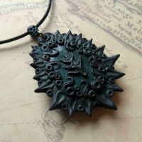 Elder Necklace by CthulhuJewellery