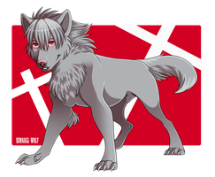 Kaworu Nagisa Dog by Semargl-Wolf