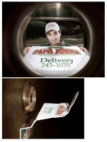 Pizza Delivery by Designcollage