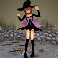 Halloween Town Lilium Dl! by KairiChan96