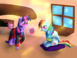 The morning after by My-little-Brony