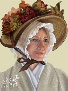 AN EUROPE OLD WOMAN by rogasong