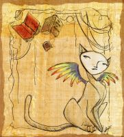 It Likes Books... by GoblinQueeen