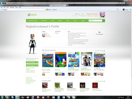 Xbox  Live Website by CrystalTheHedgehog18