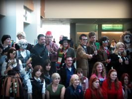 Silly Doctor Cosplay group pic by AuberyMirkwood