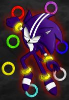 DarkSpine Sonic by BloomPhantom