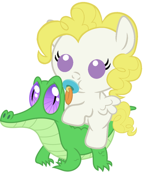 Surprise riding Gummy (One-year anniversary) by red4567-2