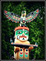 Totem Pole by electric-lime