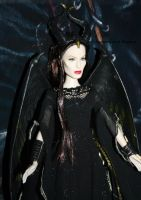 ROYAL CONRONATION MALEFICENT close up by angela808