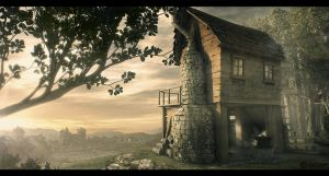Blacksmith Cabin - Key Frame by Capital---G