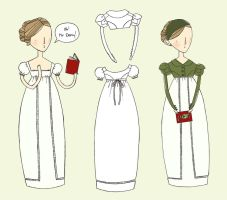 Regency dress and spencer by kittyvane