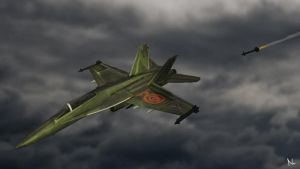 F-18 by Natal-ee-a