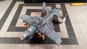 Warhammer 40K - Marauder Bomber Destroyer. by Dented-Rick