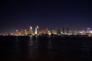 San Diego Skyline by ShannonCPhotography