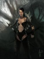 Blade Huntress by Adrian-W