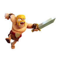 [Render] Clash of Clans - Barbarian by aaa13xxx