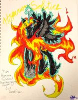 Hyperion Solstice! Comet Flare Reborn! by The-Universe-of-Nya
