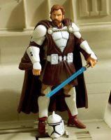 Obi-Wan Kenobi Clone Armor V1 Custom Figure by jvcustoms