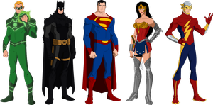 Justice Society of America by OWC478
