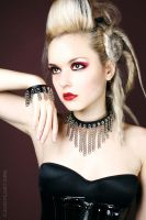 Spikes and Leather 1 by AgonyInEcstasy