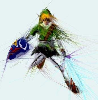 Hylian Hero by codeflex