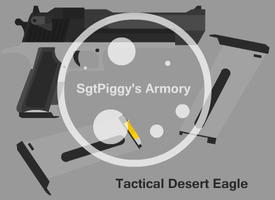 Desert Eagle Requested by Terroarc by Sgtpiggy