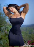 Muscular Denise Milani by cribinbic