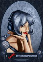 I love Headphones by Chihyro