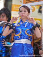 street fighter x tekken - chun li by leekenwah