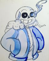 HOLY SHIT IT'S SANS! by singingaboutthesnow