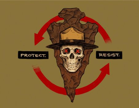 PROTECT. RESIST. by shoomlah