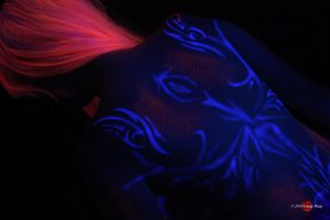 Seiryuu Blacklight- Wings by HoiHoiSan