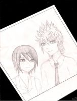 Xion and Roxas by Xion-XIV