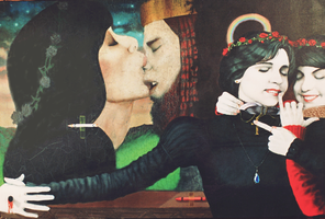 The First Kiss by kolaboy