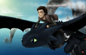 How to Train Your Dragon by TyrineCarver