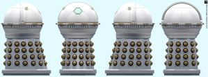 Imperial Emperor Dalek by Librarian-bot
