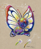 012 Butterfree by jmonkey2105