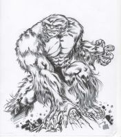 Sasquatch of Alpha Flight by SpiderGuile