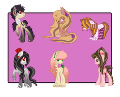 :Pony Adopts: set price (Closed) by AzrealRou