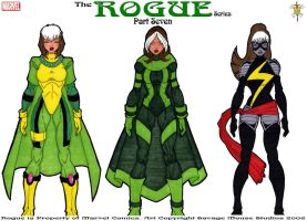 Rogue Series: Part Seven by SavageMouse