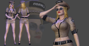 Officer Lawson DL by TheRaiderInside