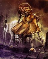 A Rainy Day in Hell by KKylimos