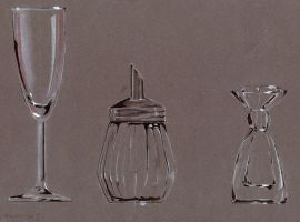 Glass Drawing Exercise by Yabbus23