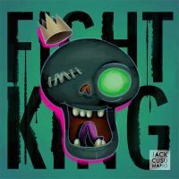 Fight King Painting by jackiecous