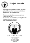 Anonymous #opAmanda tract (by AnonDeath) by projet-amanda