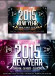 New Years Eve Flyer Template 2 by Arrow3000Graphics